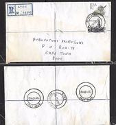 S.Africa, Registered Domestic Letter, R1.20, ATOK 1989 05 02  > CaprTown, PIETERSBURG 1989 05 03 Transit - Covers & Documents