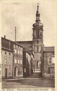 CPA BOULAY Place De La Vendée Et Eglise Paroissiale (151601) - Non Classés