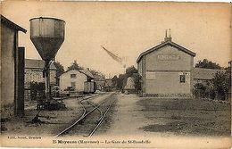 CPA Mayenne - La Gare De St.Baudelle (192674) - Non Classés