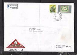 South African DISA 79  PIGEON POST No R562, Inside Sealed Envelope, Posted REGISTERED ROGGEBAAI 22.v. 79 - South Africa (1961-...)
