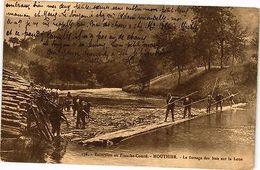CPA MOUTHIER - Le Flottage Des Bois Sur La Loue (116888) - Francia