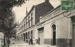 CPA Séclin - Hotel De Ville (142077) - France