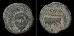 Spain Emerita Augustus AE25 - Gauloises