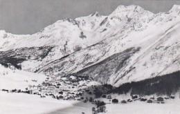 Switzerland Saas-Fee Totalansicht Mit Fletschhorn Und Laquinhorn Photo - VS Valais