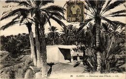 CPA TUNISIE-Gabés-Marabout Dans L'Oasis (239076) - Tunisia