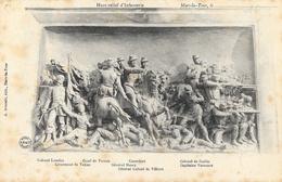 Mars-la-Tour (Meurthe-et-Moselle) - Haut Relief De Cavalerie, D'Infanterie - Lot De 2 Cartes Non Circulées - Esculturas