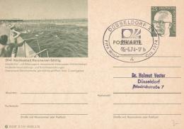Germany Postal Stationary P/m Düsseldorf FIFA World Cup Football 1974   (T17-31) - World Cup