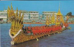 ASIE---THAILAND--bangkok--the Nakaraj Barge In A Procession---voir 2 Scans - Thaïlande