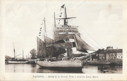 Paimpol, Musée De La Grande Pêche (Islande Et Terre Neuve), à Bord Du Santa Maria - Carte Non Circulée - Musées