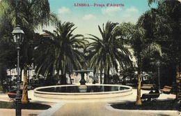 Lisboa (Lisbonne) - Praça D'Alegria - Fonte (Fontaine) - Lisboa