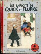 Herge Les Exploits De Quick Et Flupke Casterman 4e Serie - Quick Et Flupke