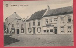 Perwez - Petit Marché ... Quincaillerie Gaston Sentron - 1923 ( Voir Verso ) - Perwez