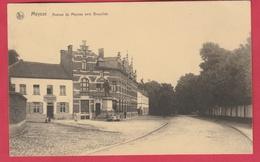 Meise / Meysse - Avenue De Meysse Vers Bruxelles - 192? ( Verso Zien  ) - Meise