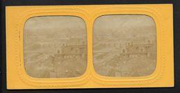 Vue Des Ponts à Paris -  Photos Stéréoscopiques Colorisées Par Transparence - Support Cartonné - Avec Petits Défauts - Stereoscopic