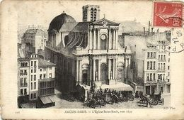 CPA Paris 1e (Dep. 75) Église Saint-Roch (87541) - France
