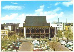 Krefeld - Stadttheater - Classic Cars VW Käfer / Kever / Coccinelle - Ford - Opel ... - Gelaufen 1977 - Krefeld