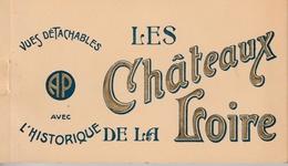 """17 / 8 / 242  -    CARNET    """"  LES  CHÂTEAUX  DE  LA  LOIRE  """" - Postcards"""