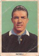 """D6299 """"NOBILI NATALE - SPAL""""  FIGURINA ORIGINALE CARTONATA DELLA S.T.E.F. - TORINO NR. 256 - 1960/1961 - Trading Cards"""