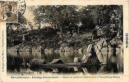 CPA Vietnam  - Hutte De Pecheur Sur Le Song-Bang-Giang (301228) - Postcards