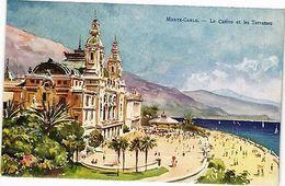CPA Monte Carlo-Le Casino Et Le Terrasses (234354) - Non Classés