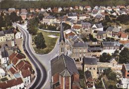 Gougnies - Vue Aérienne Du Centre (église) Circulé 1970, Edit : Beaurain - Gerpinnes