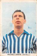 """D6310 """"MICHELI DANTE - S.P.A.L.""""  FIGURINA ORIGINALE CARTONATA DELLA S.T.E.F. - TORINO 1959/1961 - Trading Cards"""