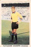 """D6313 """"VAVASSORI GIUSEPPE - CATANIA""""  FIGURINA ORIGINALE CARTONATA DELLA S.T.E.F. - TORINO 1961/1962 - Trading Cards"""