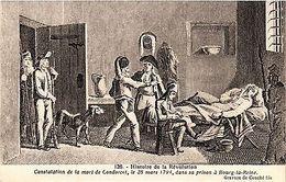 CPA Histoire De La Revolution - Constation De La Mort De Condorcet (274897) - Frankreich