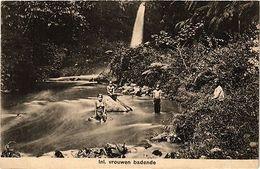INDONESIA PC DUTCH INDIES - Inl. Vrouwen Badende (a1675) - Ansichtskarten