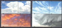 Poland  2016 - Clouds - Mi.4841-44 - MNH (**) - 1944-.... Republik