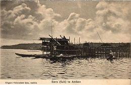 INDONESIA PC DUTCH INDIES - Sero (fuik) Te Ambon (a1599) - Indonesia