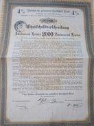 VOM LANDES-TIROL-1896-2000 ZWEI TAUSEND KRONEN-4%-RARA - Banque & Assurance