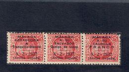 SPAGNA ESPANA LOCAL PATRIOTICO REPUBLICANO  MALAGA 1937 ARRIBA ESPANA FRA.1011 - 1931-Oggi: 2. Rep. - ... Juan Carlos I
