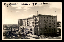 ISRAEL - JERUSALEM - HOTEL KING DAVID - Israël