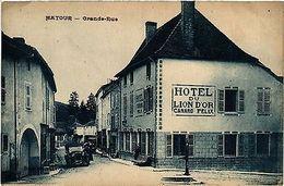 CPA   Matour - Grande-Rue    (438139) - France