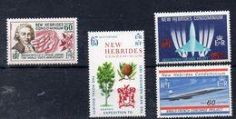 NOUVELLES HEBRIDES- Timbres Neufs ** Vers 1970 ( Ref 636 A ) Avion - Concorde - Nuevos