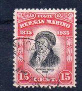 SAINT MARIN Timbre De 1935 ( Ref 636 B ) - Oblitérés