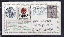 Weihnachts Balloon 1985 (o247) - Ballonpost