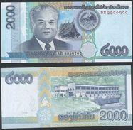 Laos DEALER LOT ( 10 Pcs ) P 41 - 2000 2.000 Kip 2011 - UNC - Laos