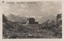 AK Patscherkofel Schutzhaus Patscherkofelhaus Gasthof Hütte Serles Bei Igls Patsch Innsbruck Schönberg Tuxer Alpen - Innsbruck