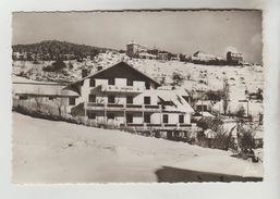 CPSM FONT ROMEU (Pyrénées Orientales) - 1800 M La Villa Marguerite Au Fond Les Hôtels Bellevue Et Pyrénées - Autres Communes