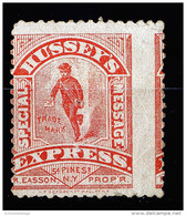 A3254) US Hussey´s Express Stamp 1880 Unused Ungebraucht - Ungebraucht