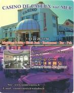 Carte De Publicité Casino : Cayeux Sur Mer (1 Seul Scan Recto-Verso) - Casino Cards