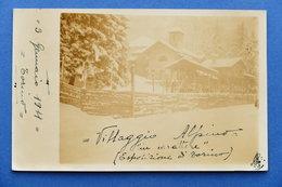 Cartolina Esposizione Torino 1911 - Villaggio Alpino In Carattere - Italia