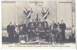 Cpa Fanfare De Cocumont - Juin 1914 ... ( Musique )    (S.2360) - Autres Communes