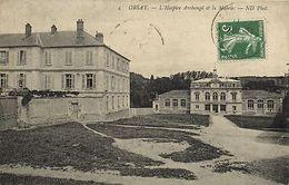 CPA ORSAY-L'Hospice Archangé Et La Mairie (180434) - Non Classés