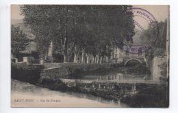 SAINT PONS (34) - VUE DU FOIRELET - Saint-Pons-de-Mauchiens