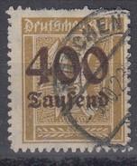DR 300, Gestempelt, Geprüft - Infla