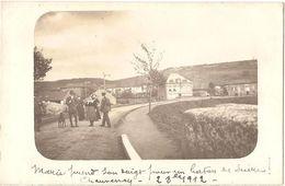 Dépt 55 - CHAUVENCY-LE-CHÂTEAU - Carte-photo Prise Du Pont (vue Sur La Rue Du Moulin) - Autres Communes
