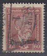 INFLA  DR Dienst 112, Gestempelt, Geprüft - Dienstzegels